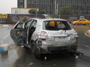 Taksim vandalism